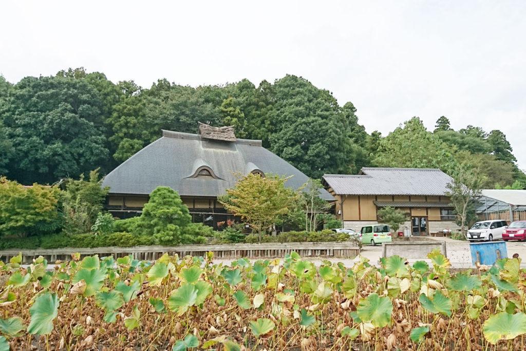 みずほの村市場・蕎舎の外観