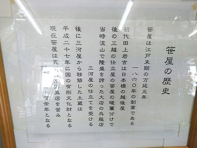 笹屋商店の歴史は長い。