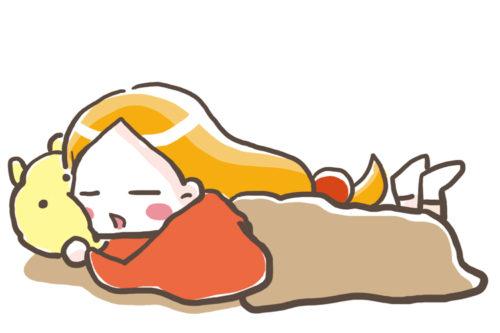 みりんちゃん寝てる