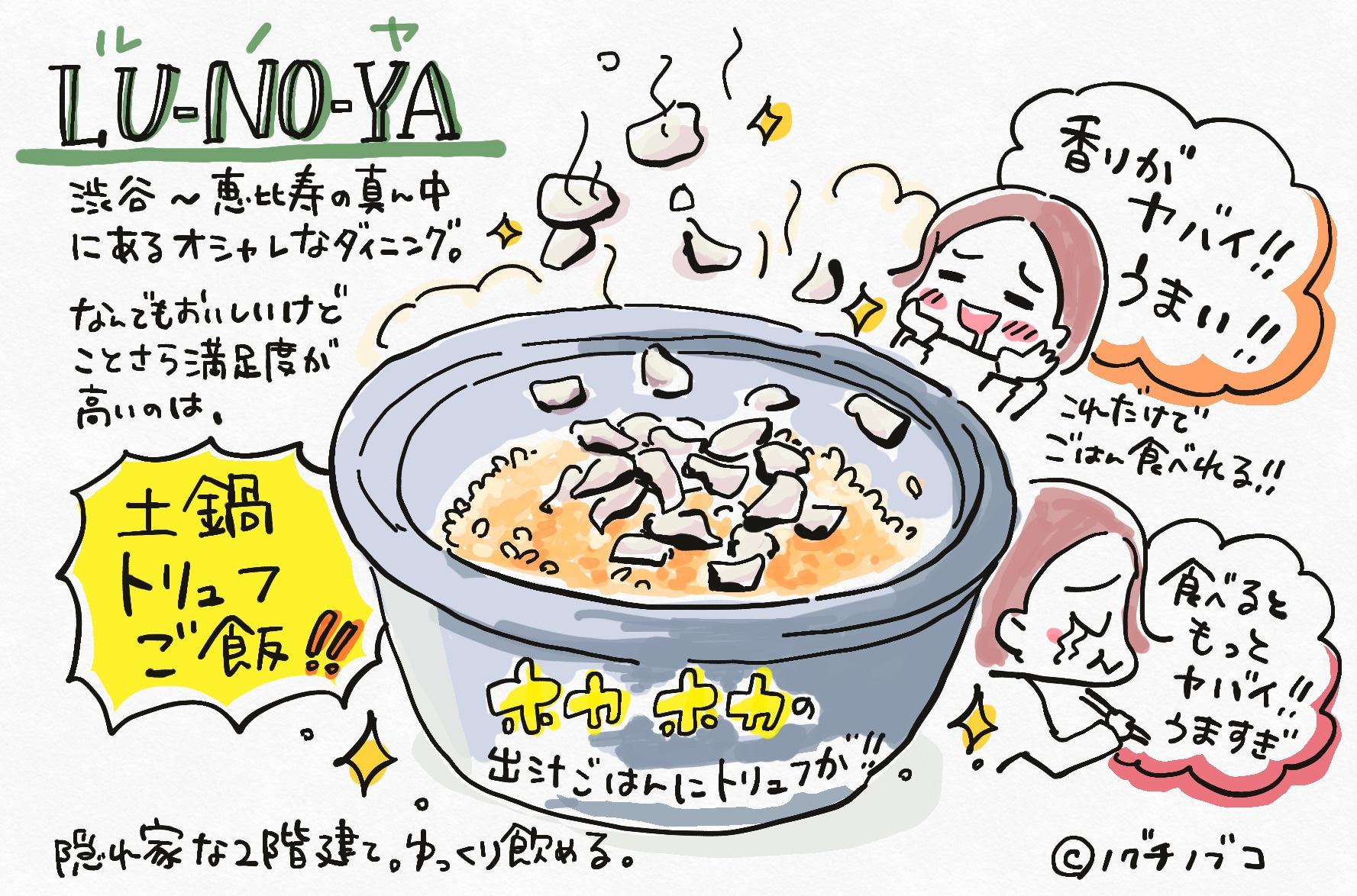LUNOYAのトリュフ土鍋ご飯